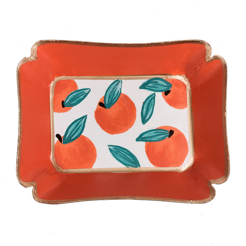 Oranges Trinket Tray