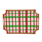 Holiday Plaid Jaye Tray
