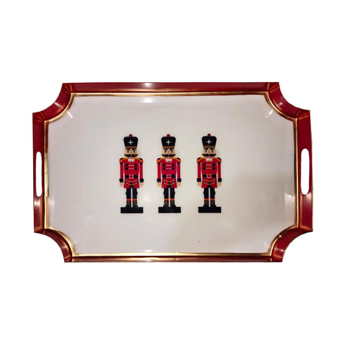 Nutcracker Enameled Jaye Tray