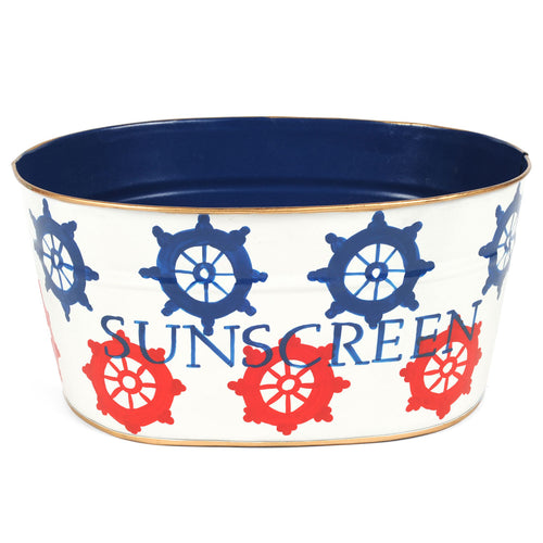 "Ahoy ""Sunscreen"" Tub"