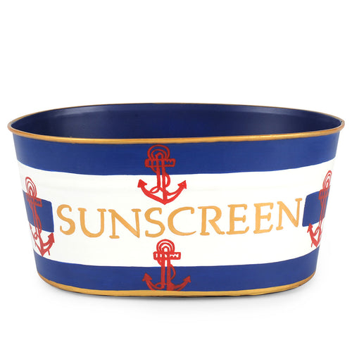 Rugby Anchor Sunscreen Tub