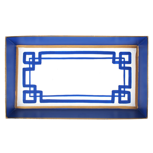 Interlocking Key Guest Towel Tray