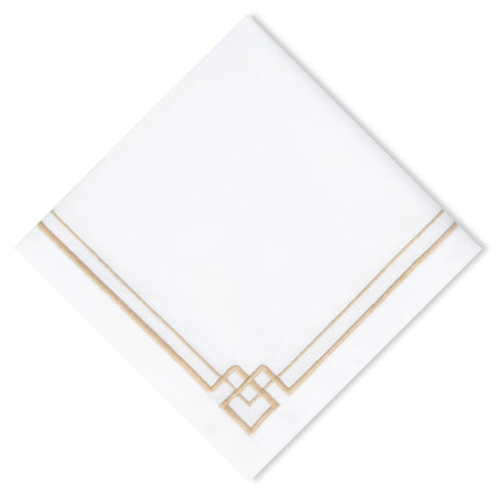 Ginger Jar Embroidery Napkins (12pk)