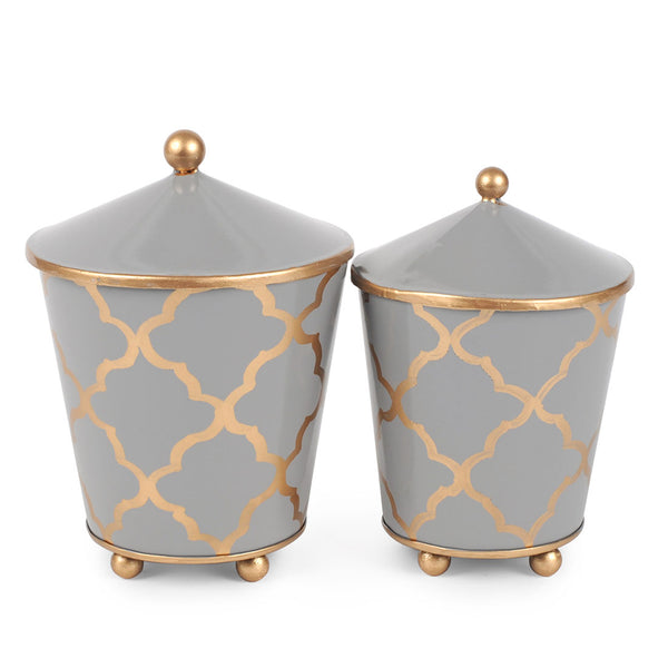 Madeline Set of 2 Canisters