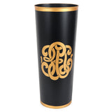 Heritage Crest Black Umbrella Stand
