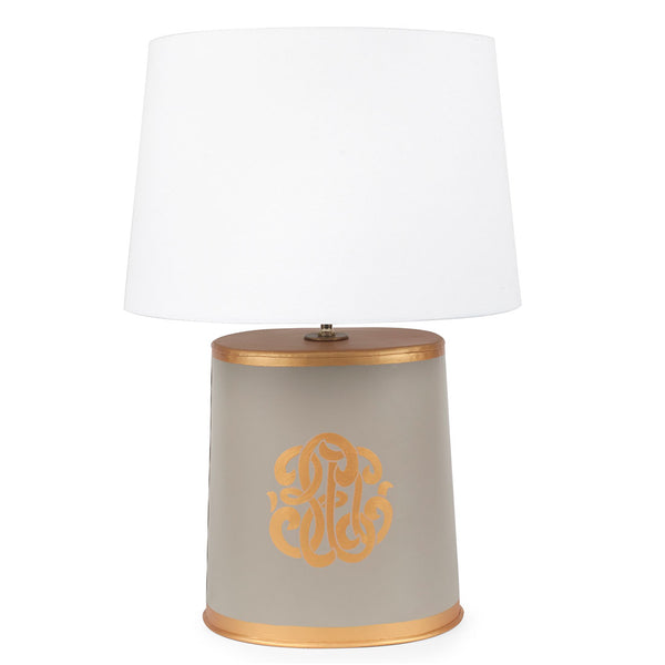 Heritage Crest Oval Lamp