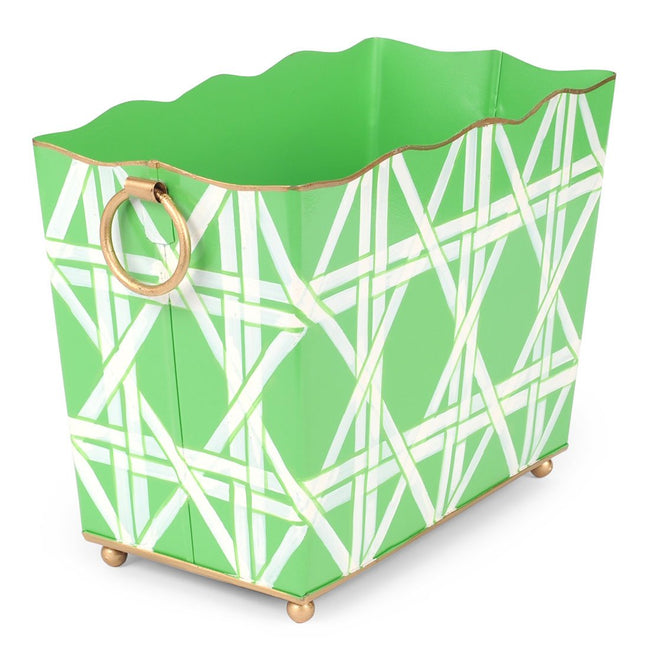 Cane Green Magazine Holder