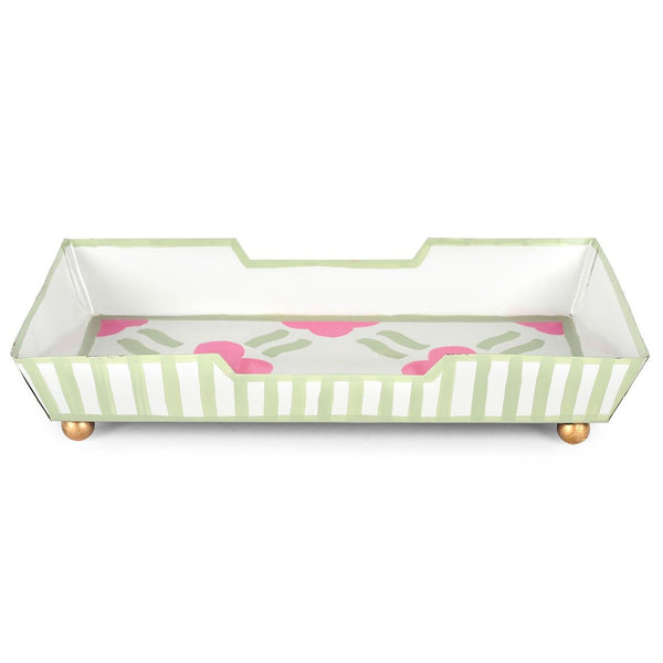 Pacifico Pink Guest Towel Tray