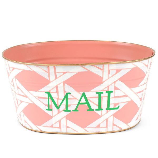 "Cane Peach ""Mail"" Tub"