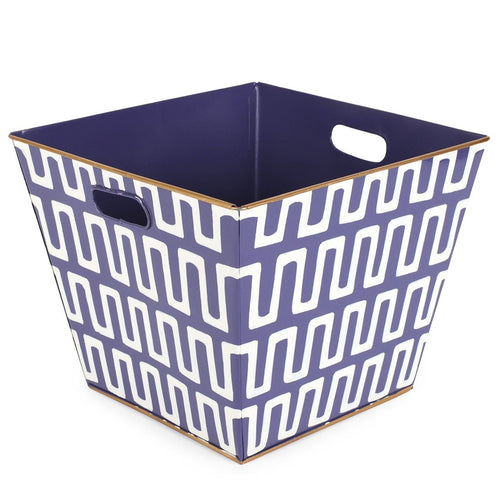 Railroad Purple Storage Bin