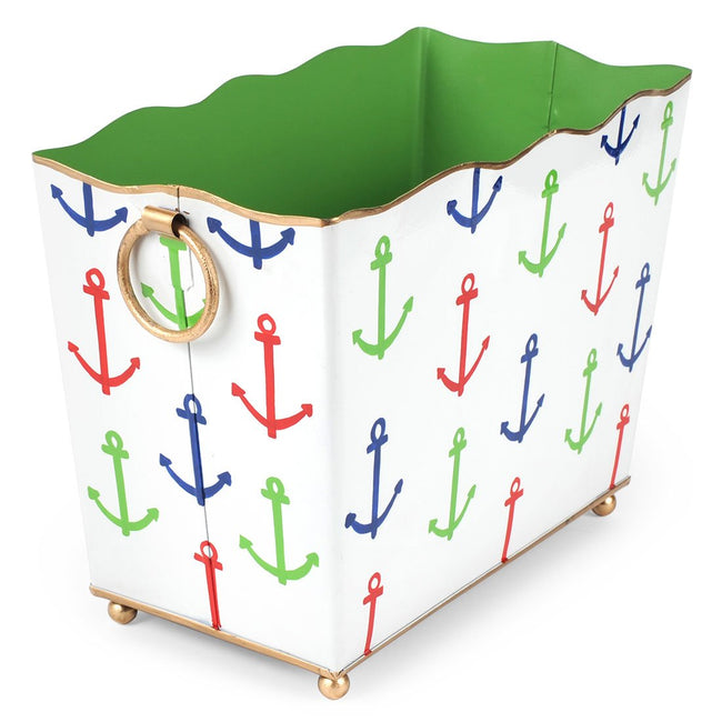 Anchors Rectangle Magazine Holder