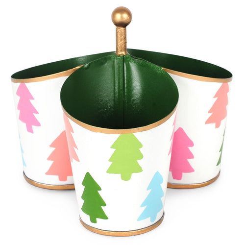 Colorful Trees Multi Color Caddy