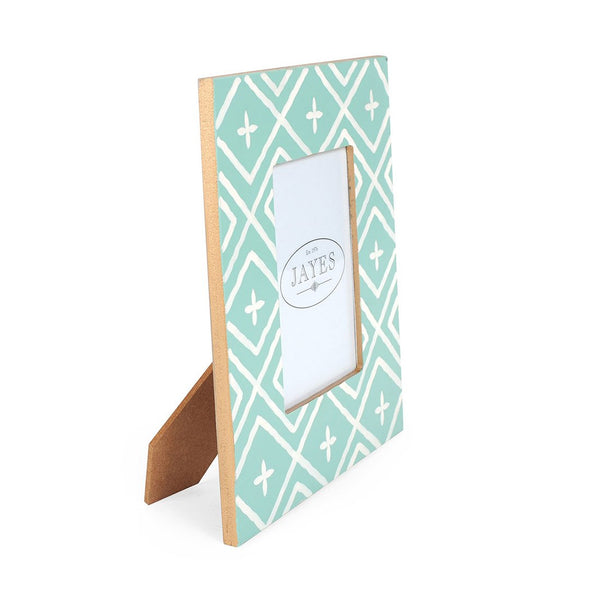 "Maize Aqua 4""x6"" Picture Frame"