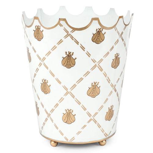 French Bee Cream Crown Wastebasket