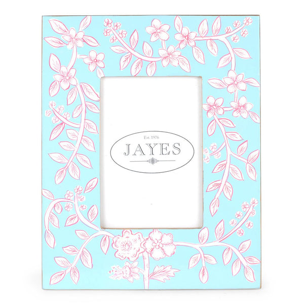 "Floral Toile 4""x6"" Picture Frame"