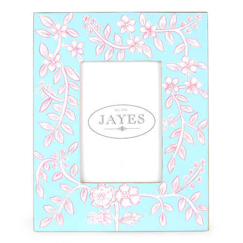 "Floral Toile 5""x7"" Picture Frame"