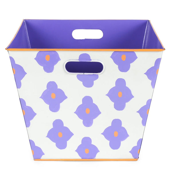 Felix Purple Storage Bin