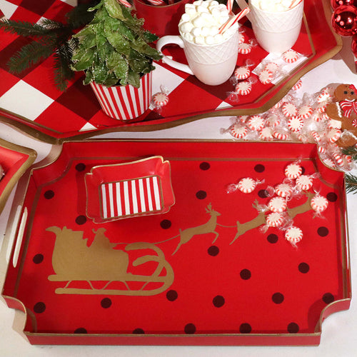 Holiday Sleigh Jaye Tray