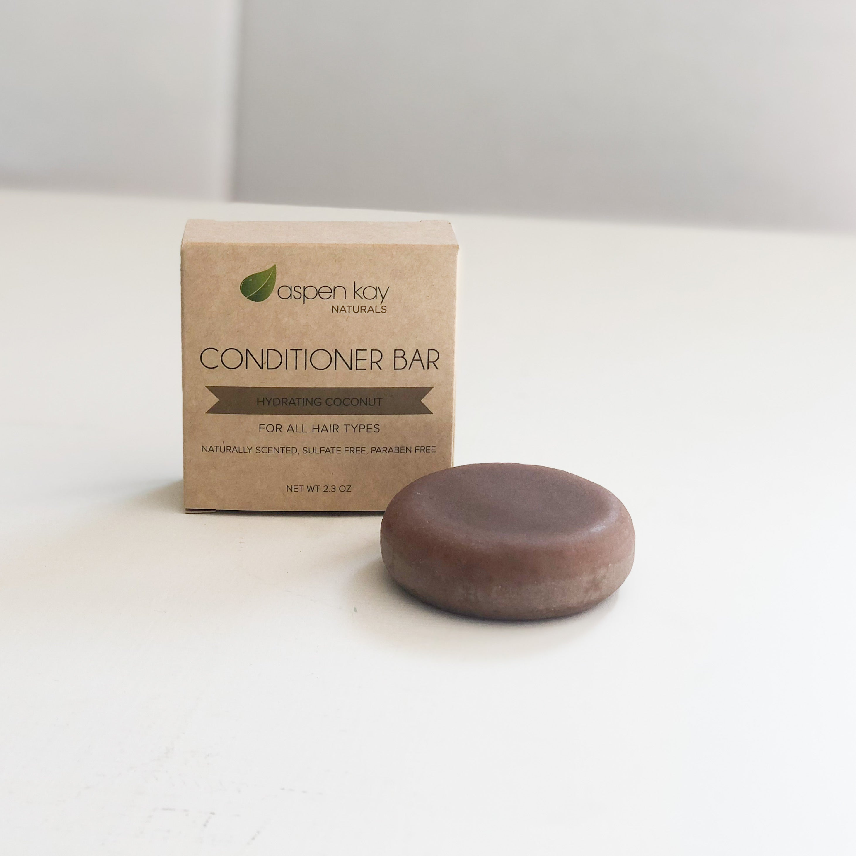 Conditioner Bar - Coconut-Hydrating (Refill - without tin)