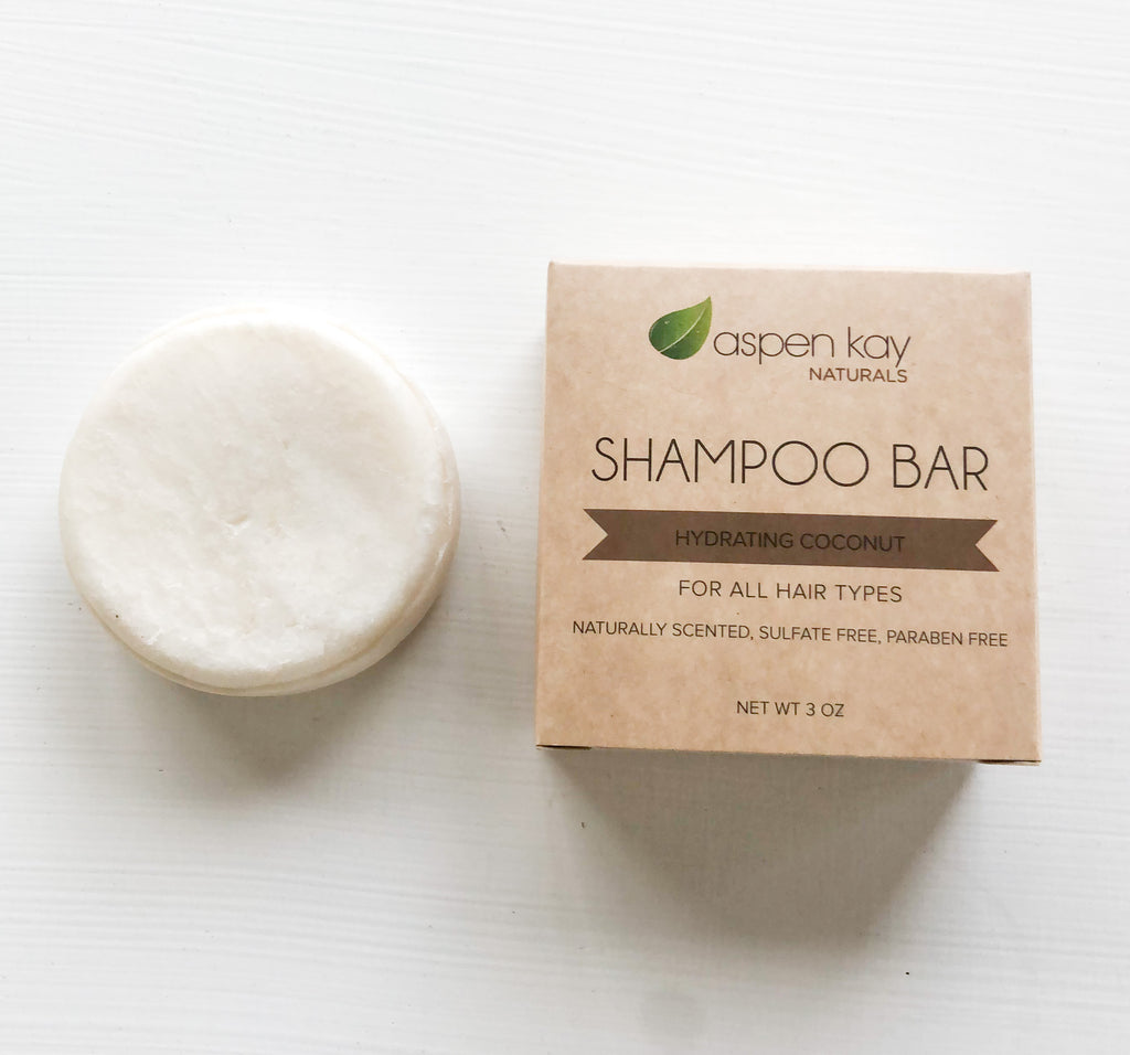 Shampoo Bar - Coconut - Hydrating (Refill - Without Tin)