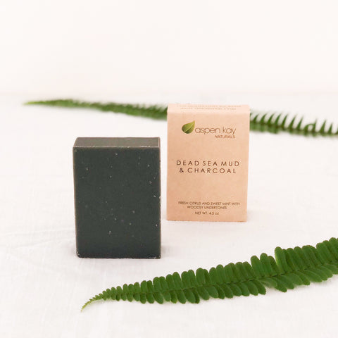 Dead Sea Mud & Charcoal - Bar Soap