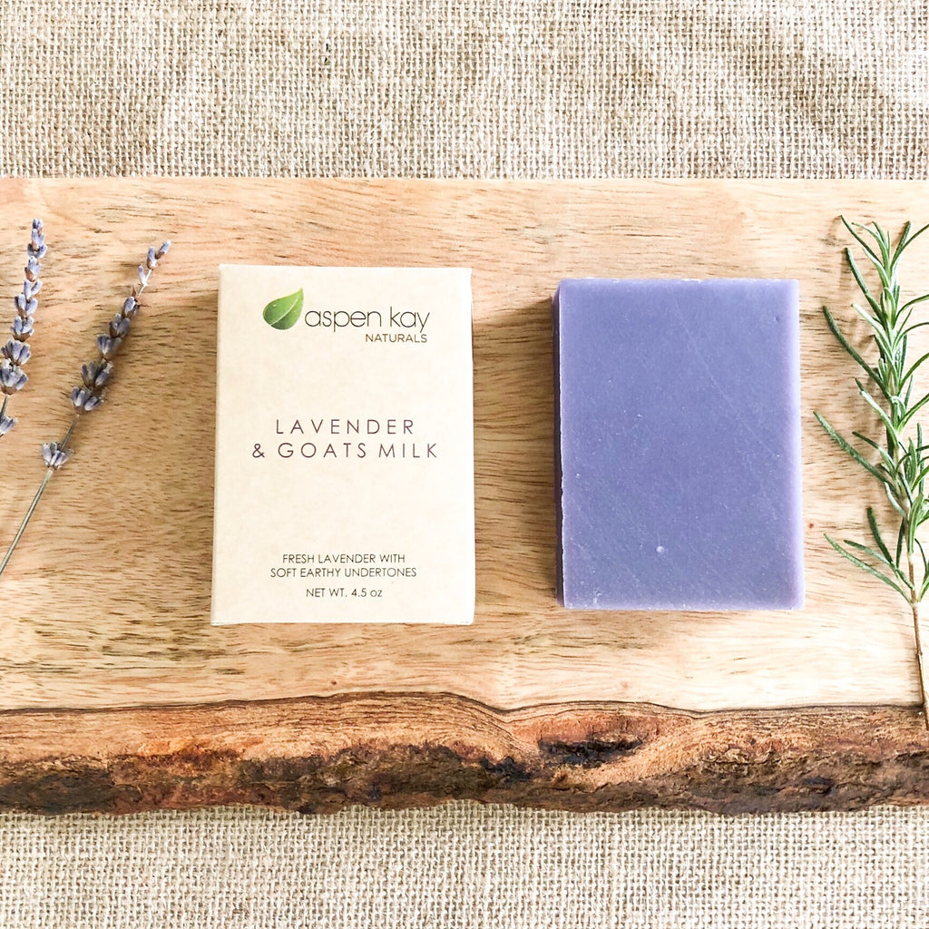 Lavender & Goats Milk - Bar Soap