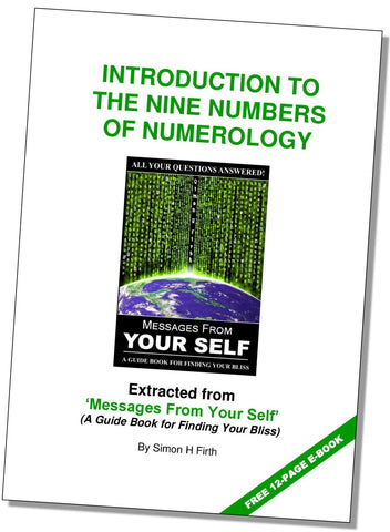 A BRIEF INTRODUCTION TO NUMEROLOGY - Simon Firth Seminars