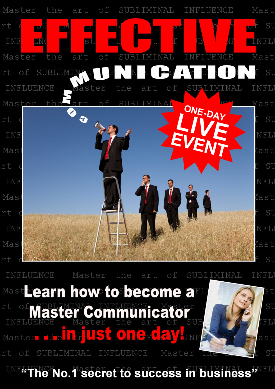 Live Event:  'Effective Communication' intensive one-day business skills workshop