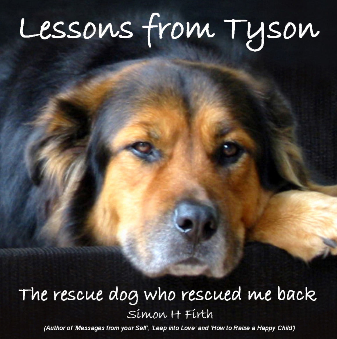 "LESSONS FROM TYSON: The moving story of a wise four-legged ""furry guru"" (84 illustrated pages)"