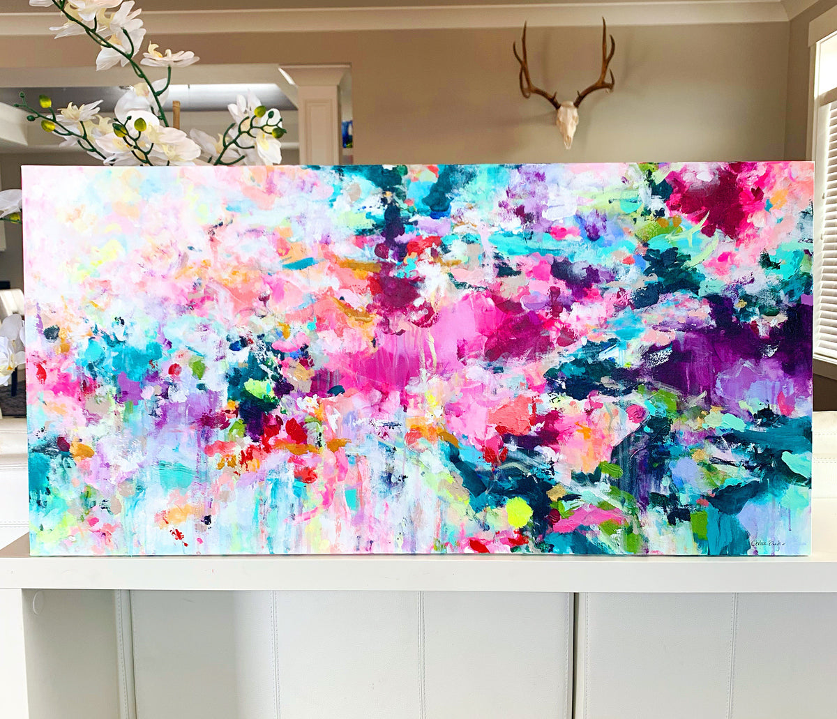 "'What A Life' 24x48"" Original Painting"