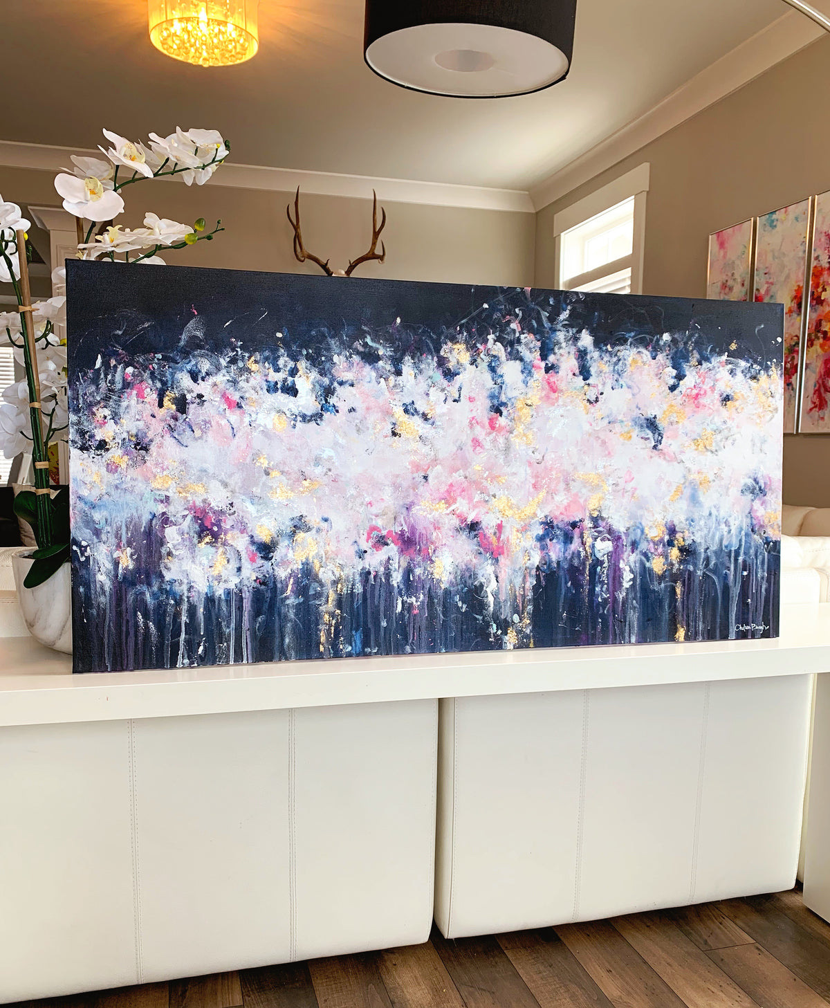 "'The Other Side' 24x48"" Original Painting"