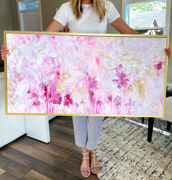 "'Because I Knew You' 24x48"" SOLD"