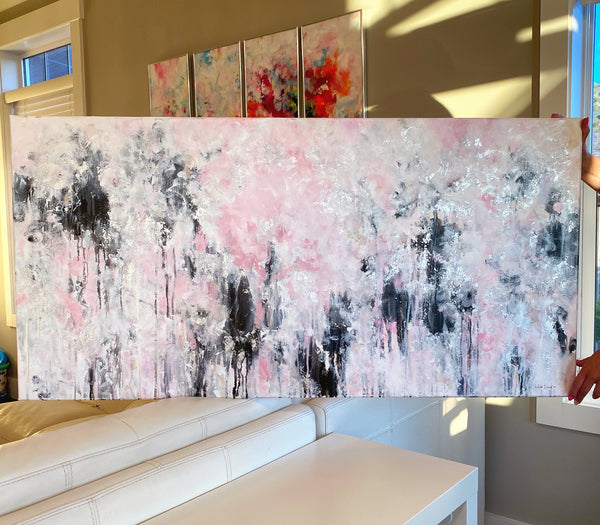 "'Changed For The Better ' 24x48"" Original Painting"