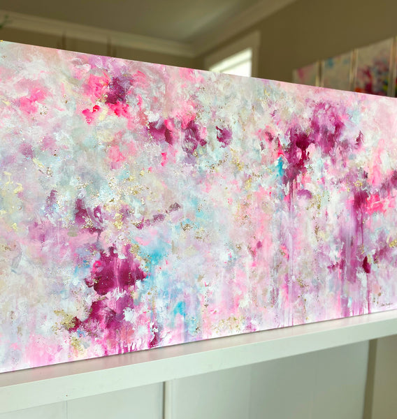 "'Every Heart' 24x48"" Original Painting"
