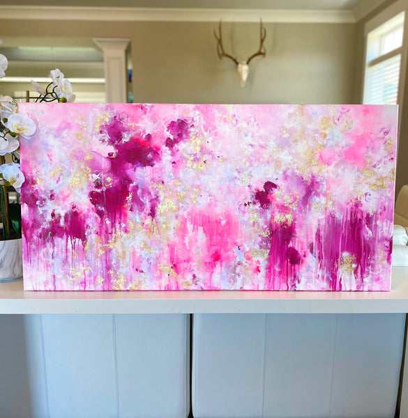 "'Because I Knew You' 24x48"" Original Painting"