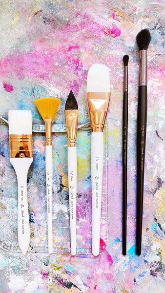 Leave Your Mark + The Luckiest Brush Sets