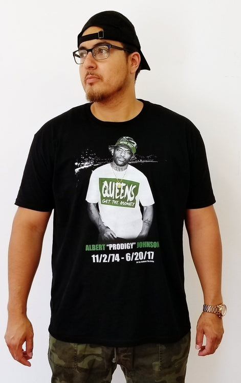 R.I.P. Prodigy of Mobb Deep t-shirt
