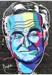 Robin Williams Colorful Personality Print