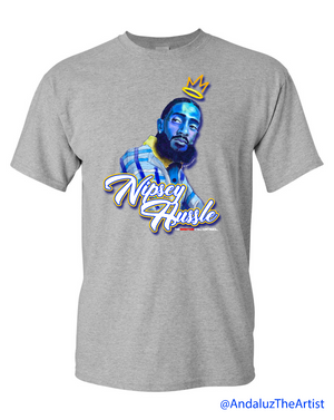Nipsey Hussle In Memory Grey Shirt