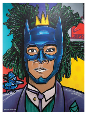 Jean-Michel Basquiat Batman/Joker 17