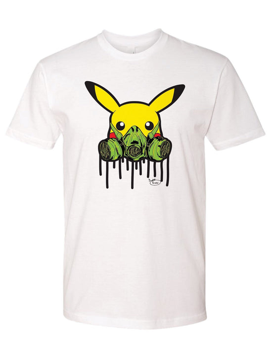 Pikachu the Street artist t-shirt