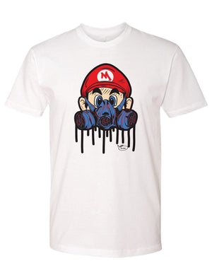 Gas Mask Super Mario Shirt