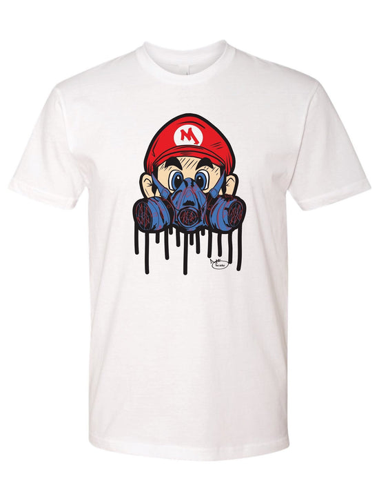 Super Mario the Street Artist t-shirt