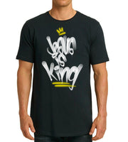 "Jesus is King ""long body"" shirt"