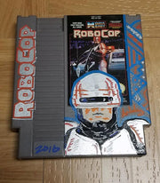 Custom Painted NES Cartridge (RoboCop)
