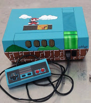 Custom Painted Nintendo NES (Super Mario theme)