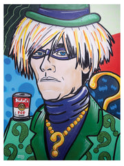 "Andy Warhol The Riddler 17""x22"" art print"