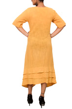 Asymmetric khadi dress/tunic