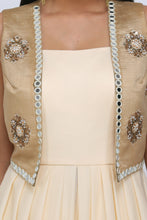 Short jacket with dhoti set