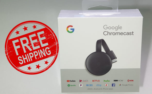 Google Chromecast Streaming Media Player (3nd Gen)